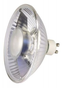 Led qpar111, gu10, 6,5w, 2700k, 38°, non variable - slv 551882