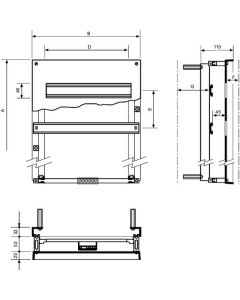 Chassis Modul 88M 600X400X200